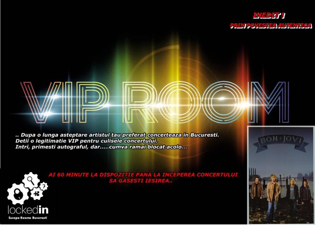 Poza Artistul tau preferat vine in concert la Bucuresti! Escape Locked-in iti propune evadarea din VIP Room! Joc pentru 2-6 persoane! 1