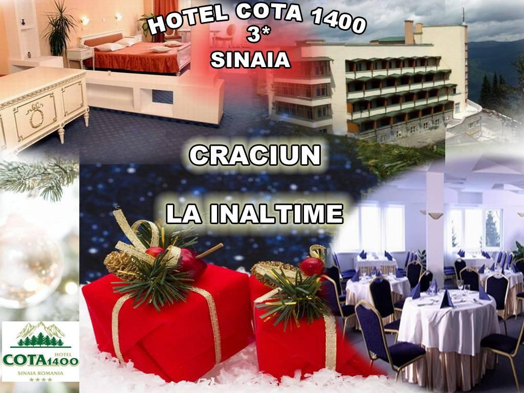 Poza Craciun in Sinaia la inaltime! Hotel Cota 1400, 3*  te asteapta cu 3 sau 4 nopti pentru 2 adulti, cu Mic dejun, Cina in seara de Ajun si Cina festiva in ziua de Craciun!  23-27 Dec 2019 1