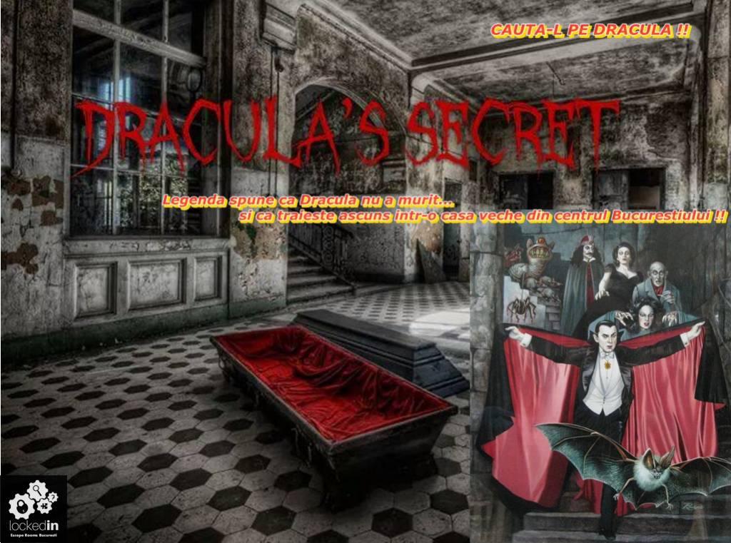 Poza Escape Locked-in iti propune evadarea din Dracula's Room! Cauta-l pe Dracula! Joc pentru 2-6 persoane! 1