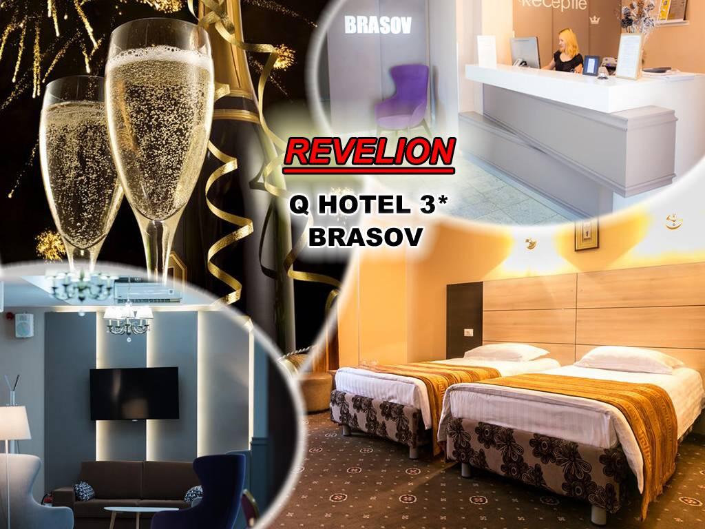 Poza REVELION in Brasov! Hotel Q 3* te asteapta cu 3 sau 4 nopti pt 2 adulti, Mic Dejun, Cina festiva de Revelion cu petrecere si muzica Live! 29 Dec 2019- 02 Ian 2020 1