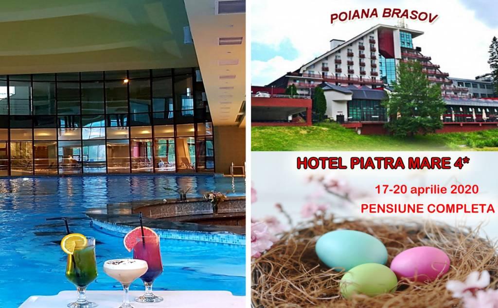 Poza Sarbatoreste Pastele de 4* in Poiana Brasov, Hotel Piatra Mare! 3 nopti pentru 2 adulti, Pensiune Completa ( mic dejun + pranz+ cina) , Muzica live si acces la Spa si Piscina. 17-20 Aprilie 2020