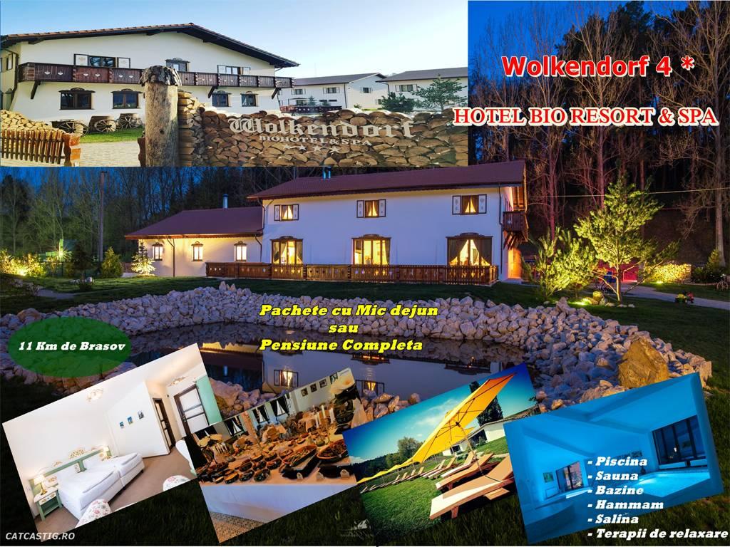 Poza Wolkendorf Bio Resort& Spa te asteapta cu 1, 2, 3, 4 sau 5 nopti pentru 2 adulti in Camera dubla Superioara cu Mic dejun sau PENSIUNE COMPLETA si acces la SPA in perioada 20 Martie- 22 Decembrie