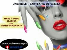 Poza Manichiura + Pedichiura Clasica/ Semipermanenta: cu oja OPI si CUPIO la Clinica de Infrumusetare HIPOCRAT, zona Baneasa! 1