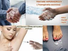 Poza Rusinos sau nu, Hiperhidroza ( transpiratia in exces) este o problema medicala! Tratare Hiperhidroza Axile, Palme sau Talpi cu Botox Dysport! 1