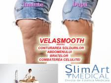 Poza VelaSmooth este solutia ideala pentru combaterea celulitei, conturarea soldurilor, abdomenului sau bratelor! 1 sau 3 sedinte la Clinica Medicala SlimArt! 1