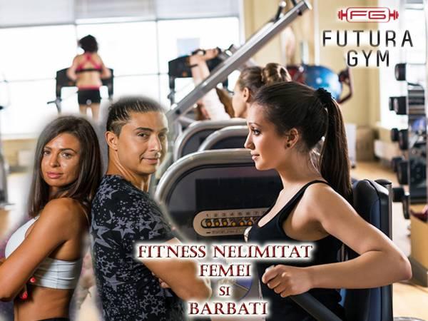 Poza 1, 2 sau 3 luni Fitness nelimitat femei si barbati! Futura Decebal! Bonus aerobic 1