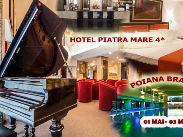 Poza 1 MAI la Piatra Mare, 4*! Cazare 2 nopti cu Pensiune completa ( mic dejun + pranz+cina), Petrecere cu Live Band si piscina+spa! 01-03 Mai 2020 1
