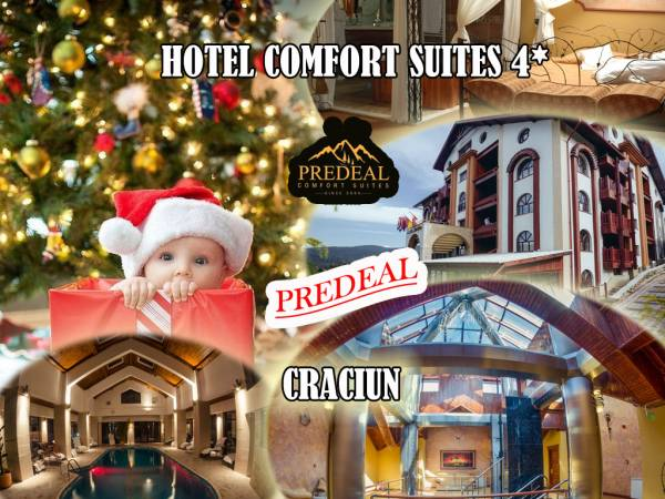 Poza Craciun de 4* in Predeal la Hotel Comfort Suites!  2 3 sau 4 nopti pt. 2 adulti cu mic dejun, Cina festiva de Craciun ( optional)  piscina, sauna, jacuzzi! 22-29 Decembrie 2019 1