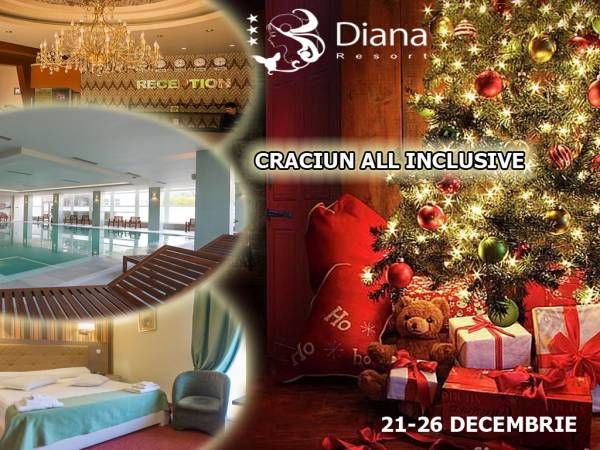Poza Craciun in Baile Herculane! Diana Resort 3* te asteapta cu pachete de 4/5 nopti cu ALL INCLUSIVE, obiceiuri traditionale de Craciun si acces la magnificul spa Diviana! 1