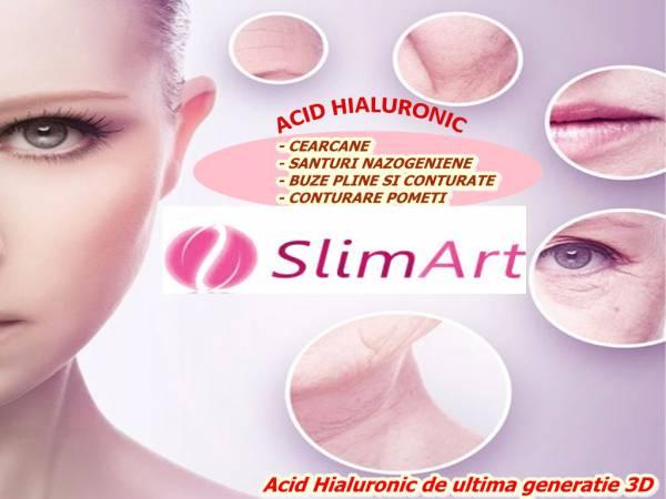 Poza Feminitate si naturalete ! Injectare acid hialuronic 0.5 ml sau 1 ml  pt cearcane/ buze/ pometi sau riduri!  1