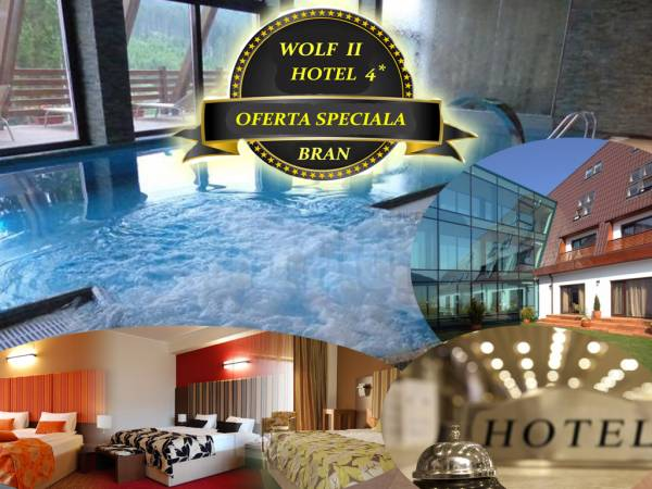 Poza Hotel 4*- Wolf 2, Bran! 1/2/3/4/5 nopti cazare 2 pers, mic dejun si Piscina, Sauna, Jacuzz, Tiroliana! Pana pe 30 Iunie 2020 17