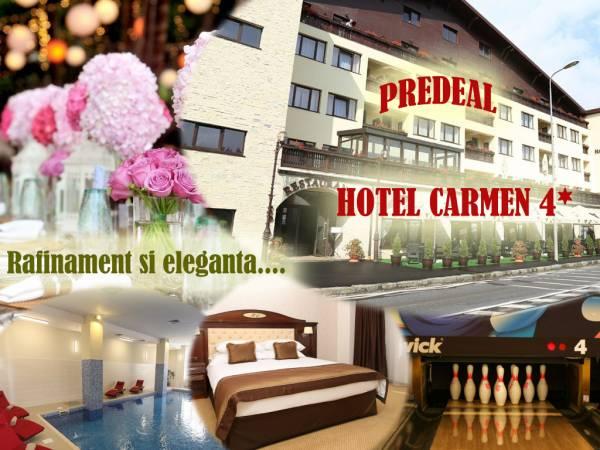 Poza Hotel Carmen 4*, Predeal! 1, 2, 3, 4 sau 5 nopti cazare, mic dejun si piscina! Perioada: 02 Ianuarie 2020- 22 Decembrie 2020 1