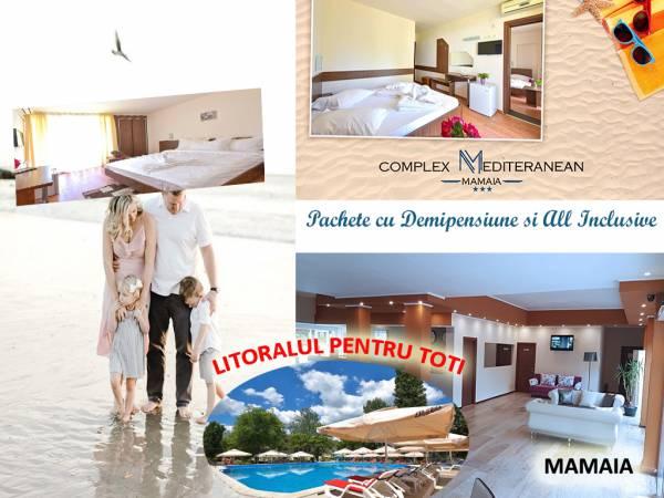 Poza Litoralul pentru Toti in Mamaia! Complex Mediteranean Mamaia  3*: mic dejun/ demipensiune/ all inclusive 5 nopti/ 6 zile! 04 Mai - 20 Iunie SAU 01-25 Septembrie 2020 1