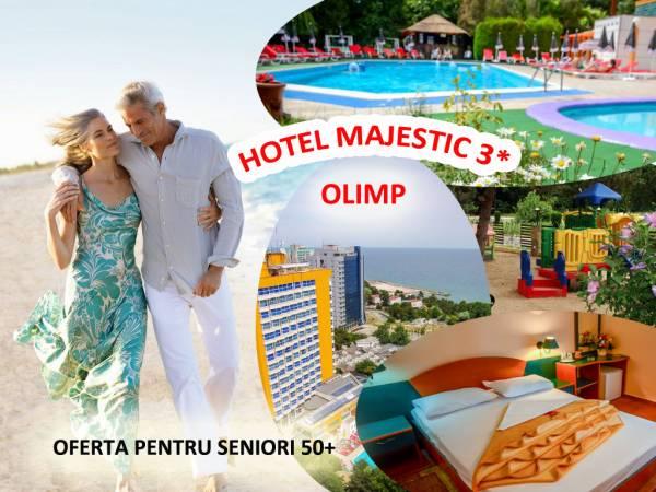 Poza Oferta seniori 50+ la Hotel Majestic Olimp3*  te asteapta cu 3,4,5 sau 6 nopti - 2 persoane in Cam dubla cu All Inclusive si piscina! 29.05-18.06.2020 sau 06.09-13.09.2020 1