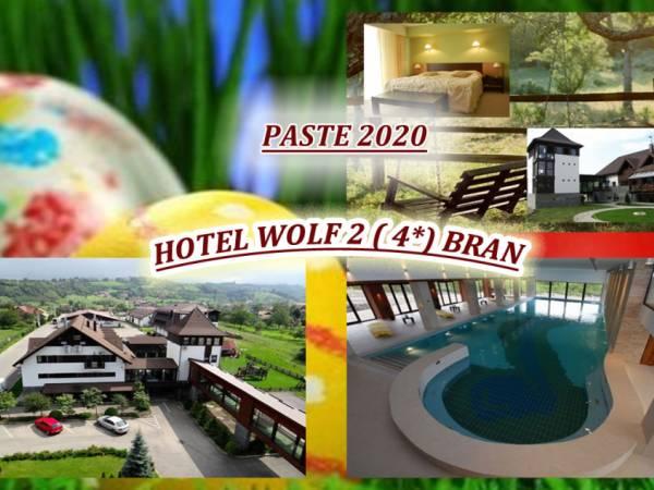 Poza Paste in Bran la Hotel Wolf 4 : 3 sau 4 nopti, cazare cu Mic dejun, primire cu bufet in noaptea de inviere, Pranz festiv cu Muzica Live, Protap si foc de tabara si Acces la Spa! 17-21 Aprilie 202