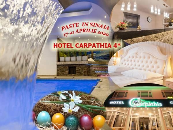 Poza Petrece sarbatorile de Paste la Hotel Carpathia Sinaia! Cazare 3 sau 4 nopti cu mic dejun si Cina, program artistic si Muziva Live si acces la SPA! Perioada: 17-21 Aprilie 2020 1