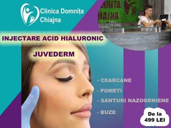 Poza Redobandeste aspectul tanar si sexy cu augmentare buze sau corectie riduri nazogeniene/cearcane prin injectare acid hialornic primium Juvederm 1