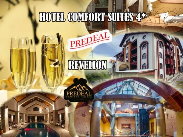 Poza Revelion de 4* in Predeal la Hotel Comfort Suites!  3 sau 4 nopti pt. 2 adulti cu mic dejun, Cina festiva de Revelion cu petrecere, Brunch in 01 Ian si  piscina, sauna, jacuzzi!  1