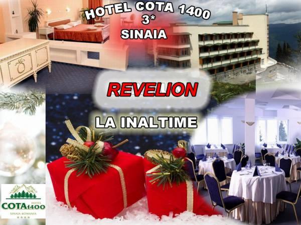 Poza Revelion in Sinaia la inaltime! Hotel Cota 1400, 3*  te asteapta cu 3 sau 4 nopti pentru 2 adulti cu Mic dejun !  29 Decembrie 2019-02 Ianuarie 2020 1