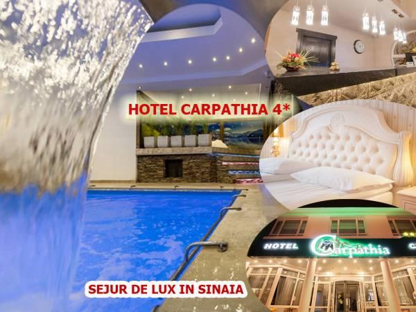 Poza Sejur de LUX la Hotel Carpathia Sinaia! Cazare 1,2,3,4, sau 5 nopti cu mic dejun, si acces la SPA! Perioada: 16 Februarie- 22 Decembrie 2020 1