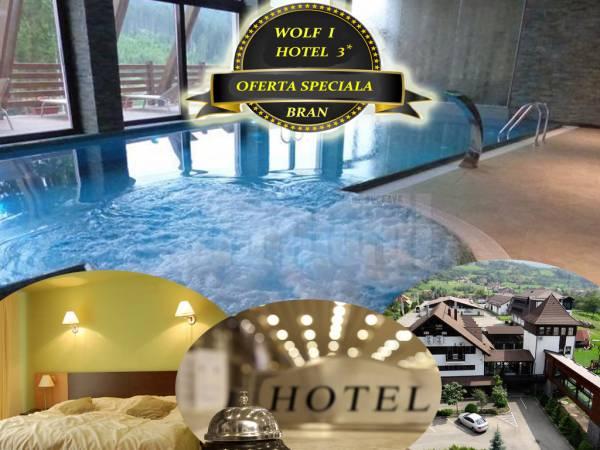 Poza Sejur deosebit la Hotel Wolf 1, 3* Bran! 2/3/4 nopti in 2, Mic dejun/ Demipensiune, Piscina, Sauna, Jacuzzi, Tiroliana!  10