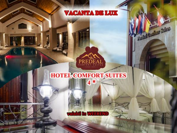 Poza Vacanta de 4* in Predeal la Hotel Comfort Suites! 1 SAU 2 nopti pt. 2 adulti in WEEKEND, cu mic dejun, piscina, sauna, jacuzzi! Perioada: 06 Martie- 29 Noiembrie 2020 1